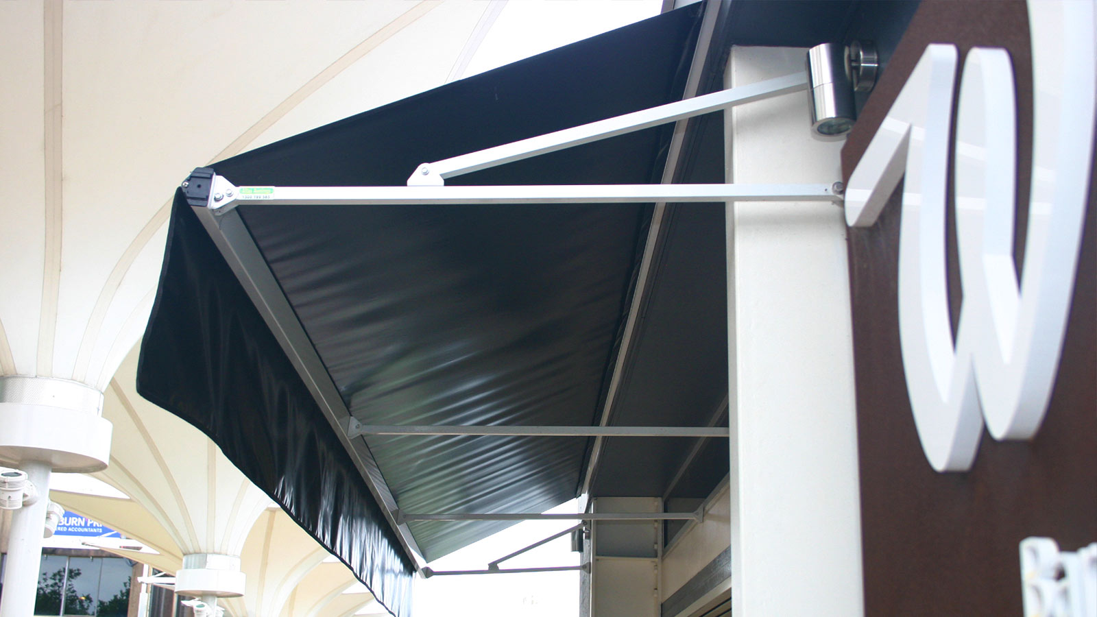 Fixed No Frame Awning