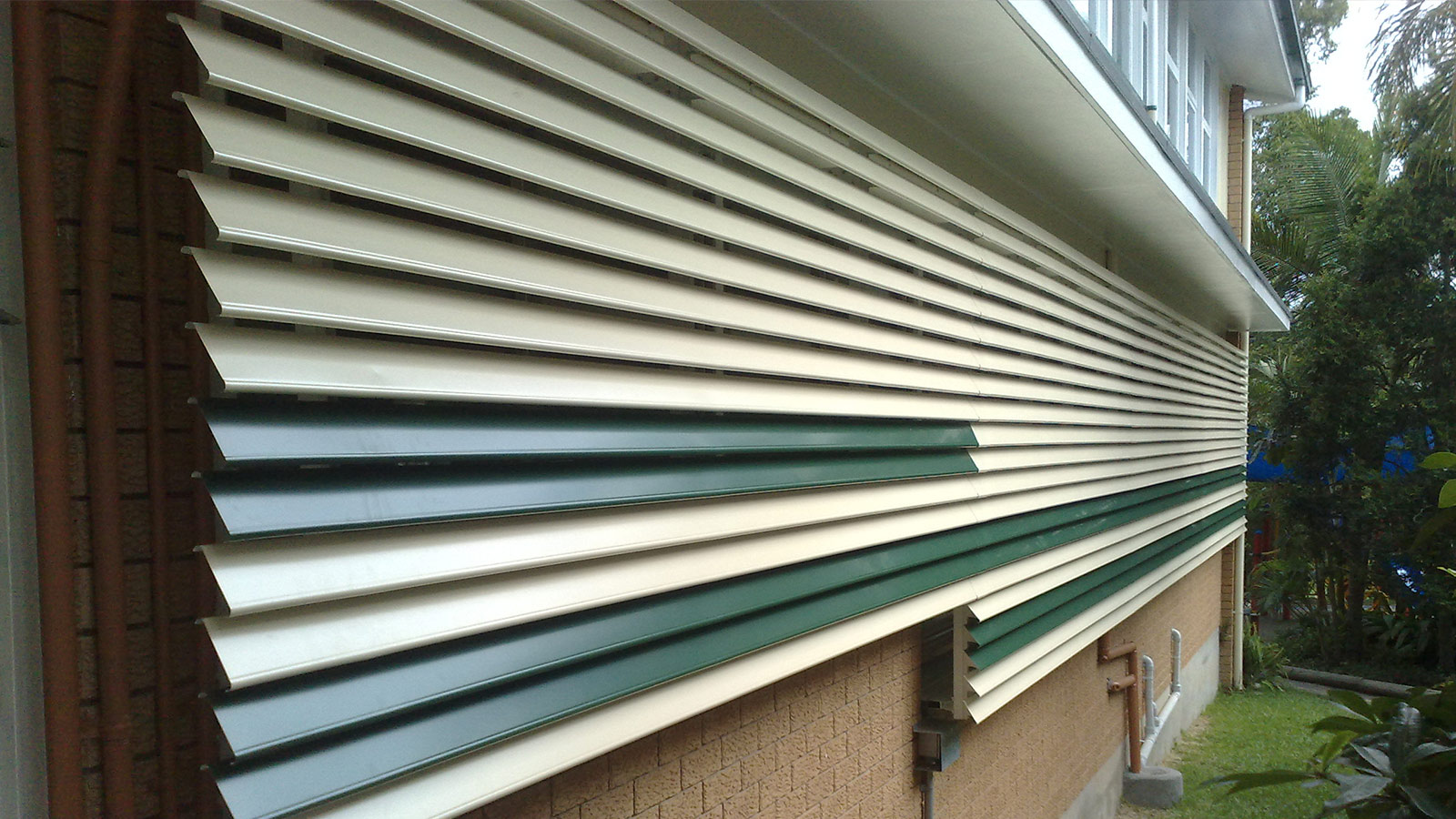 Metal Louvred Awnings Atlas Awnings
