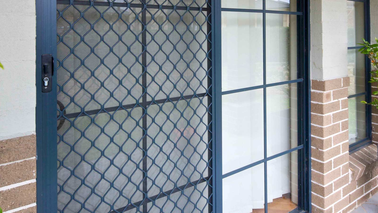 Diamond Grille Security Screens And Doors Atlas Awnings