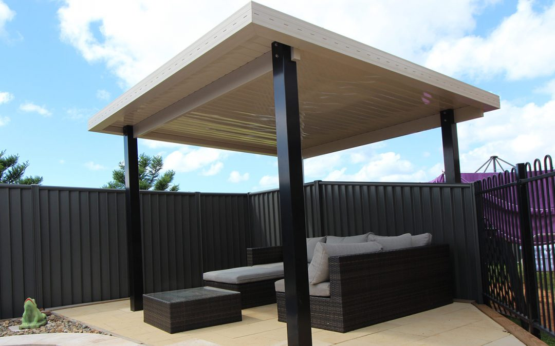 Building a Pool Shade Cover in Wollongbar
