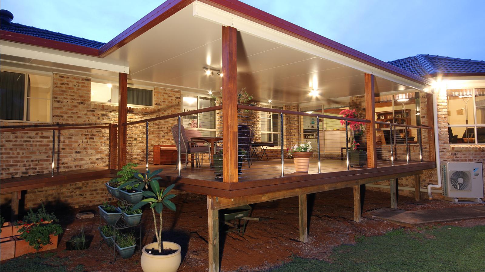 Custom Timber and Concrete Decks