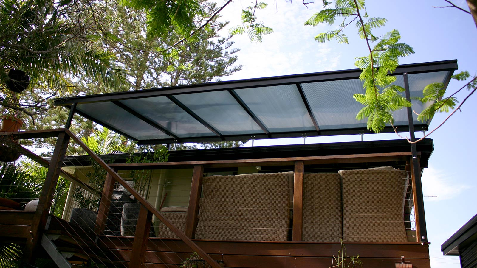 Polycarbonate Flyover Patio Cover Brunswick Heads