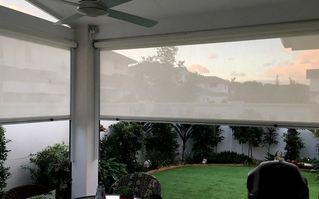 Controlling the weather in an alfresco area in Byron Bay with patio awnings